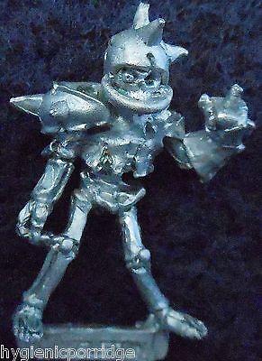 1987 Skeleton Bloodbowl 1st Edition Attacker Citadel BB2 Undead Khemri Team NAF