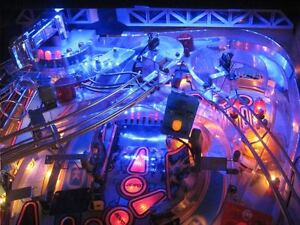 Funhouse, Fishtales, Shadow, Demolition Man Pinball Playfield Light Mod