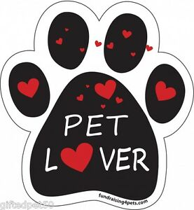 Pet-Lover-Paw-Print-Magnet-with-Red-Hearts