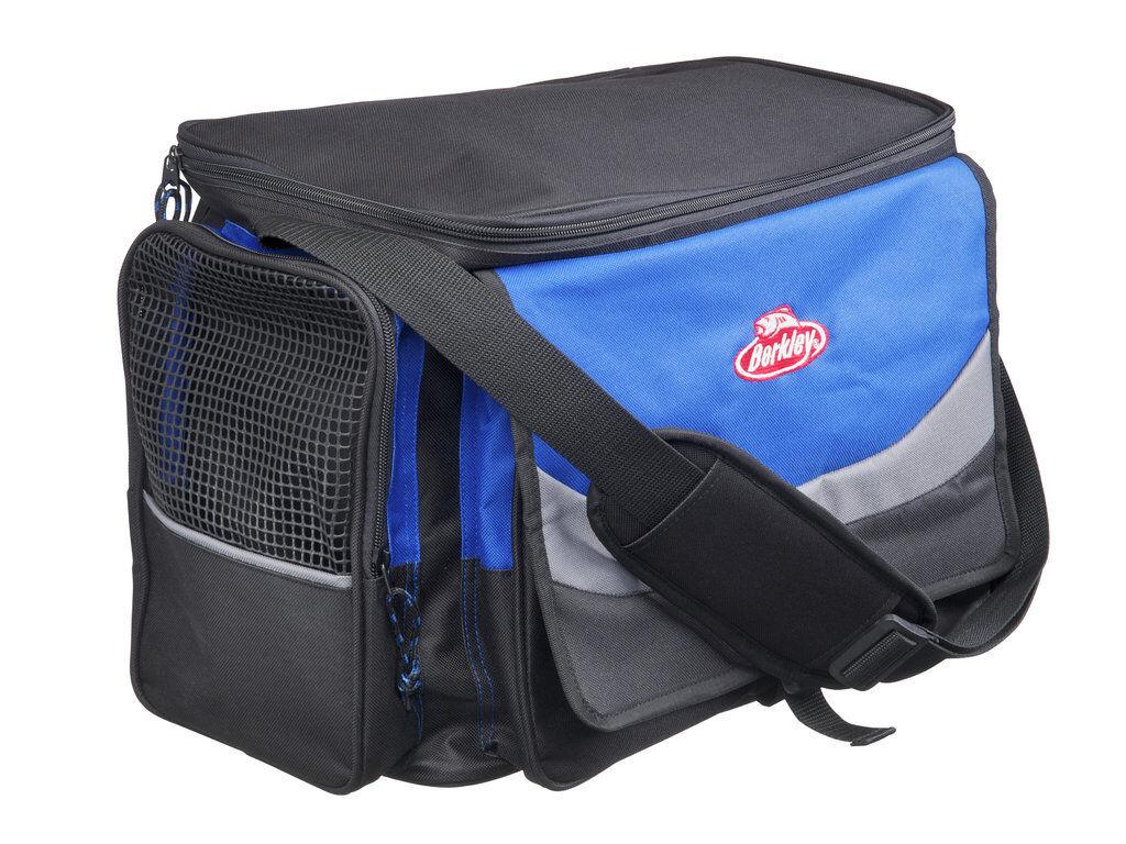 Berkley System Bag XL Blau-Grau-Blau - - Blau-Grau-Blau Ködertasche Angeltasche Zubehörtasche 038dae