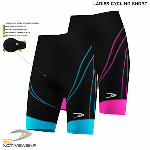 Womens-Padded-Cycling-Shorts-Bike-Knicks-Bicycling-Riding-Shorts-With-Padding