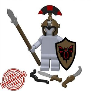Custom DRAGON SWORD Brickforge Castle LOTR Silver for LEGO Minifigures