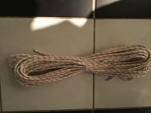 Boat rope Marlow 8 plait polyester sheet halyard rope size 5mm length 50 metres,
