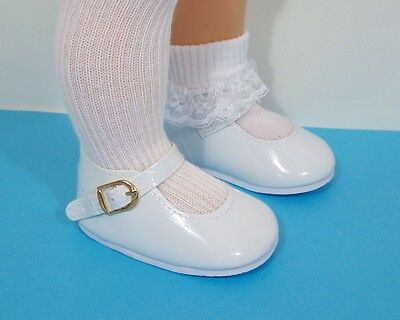Doll Shoes 85mm LIGHT PURPLE Heart Cut for Chatty Cathy My Twinn 20/""