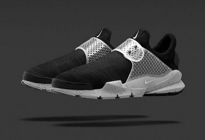 Nike Sock Dart SP Fragment Design Black Cement Grey flyknit  728748-001