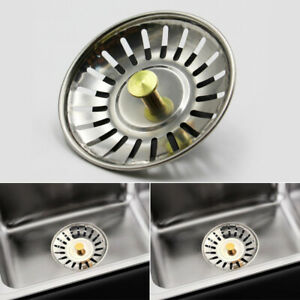 Kitchen-Water-Sink-Strainer-Cover-Floor-Drain-Waste-Plug-Stopper-Filter-Basket