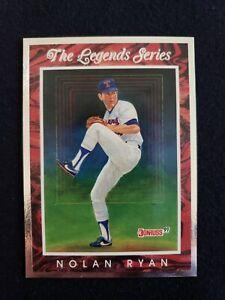 1991 Donruss Elite Legend Series Nolan Ryan  6534/7500 Leaf Baseball