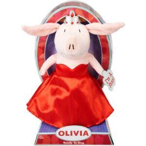 20.3cm Olivia Prêt À Sing Poupée Peluche, Nouveau, Par Spin Master