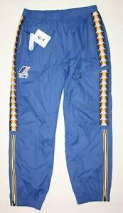 K-WAY-x-Kappa-Le-Vrai-Edgard-Banda-Blue-Pants-Size-Men-039-s-XXL-Rare-BNWT