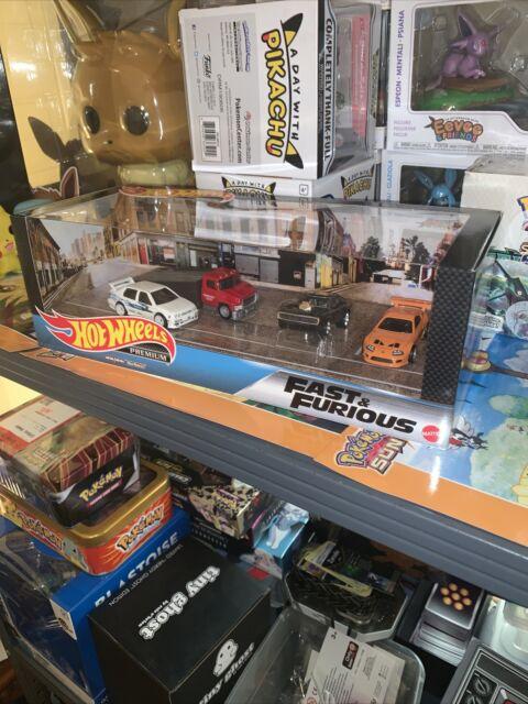 Hot Wheels Fast and Furious Premium Garage Diorama Box Set 🔥Walmart Exclusive🔥