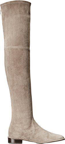 Stuart Weitzman Women's Thighscraper Praline Suede Suede Suede Boot 6558 Size 9 M 144450