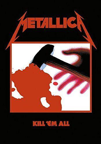 Metallica - Kill'em All Textile Poster Flag 75x110cm HEART ROCK