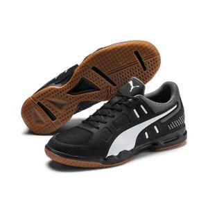 Details zu Puma Auriz Indoor Herren Handball Hallenschuhe 105600 03 schwarz