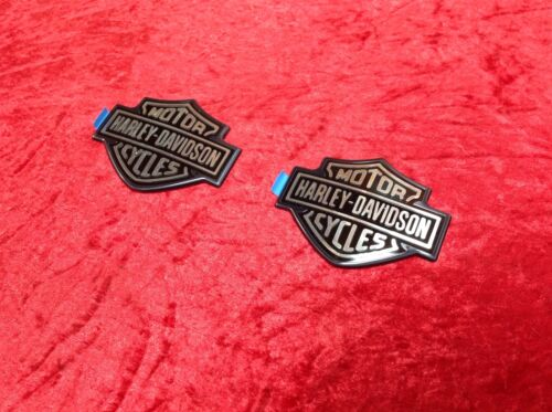 OEM Harley Dyna Sportster Softail Touring Fuel Tank Emblems Badges Right /& Left