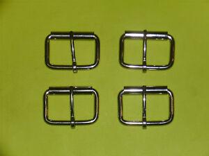 Gute Preise Kundschaft zuerst begrenzter Preis Details zu 4 Gürtelschnallen, 5 cm, massiv Edelstahl, Rollschnalle  Gürtelschließen,CR-ES-02