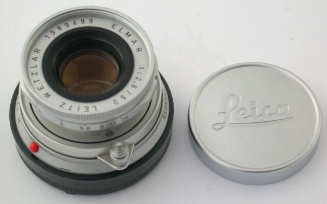 LEICA Elmar-M 2,8/50 50 50mm F2,8 2,8 collapsible versenkbar 1963 TOP 1989499