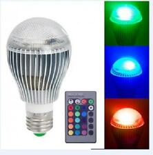 9W E27 LED RGB Magic Light 16Color Bulb Spot Light Lamp With 24k Wireless Remote