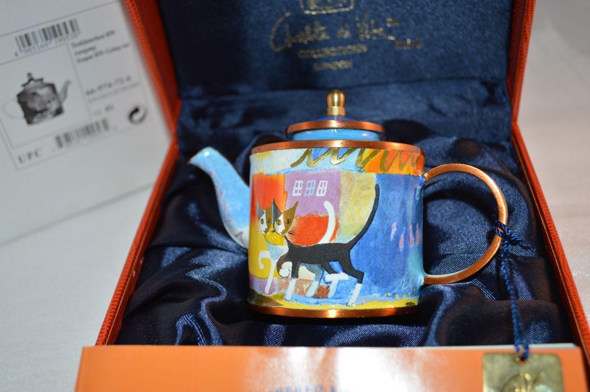 Göbel Rosina Wachtmeister Teekännchen Ausgang Going out  sehr selten  OVP NEW