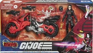 GI Joe Classified BARONESS Target Exclusive with COBRA COIL Island #13 IN HAND