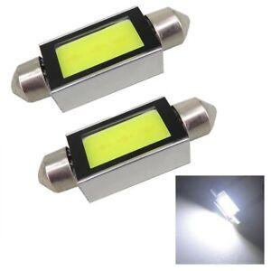 2pcs-White-Xenon-Car-COB-LED-License-Plate-Light-6418-C5W-4W-LED-Bulbs-12V-36mm