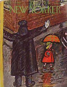 1953-New-Yorker-Oct-10-Rainy-Day-Policeman