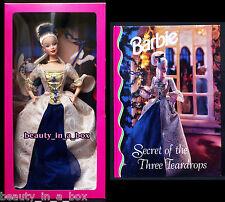 Secret of the Three Teardrops Barbie Doll plus Companion Book in Grolier SHIPPER