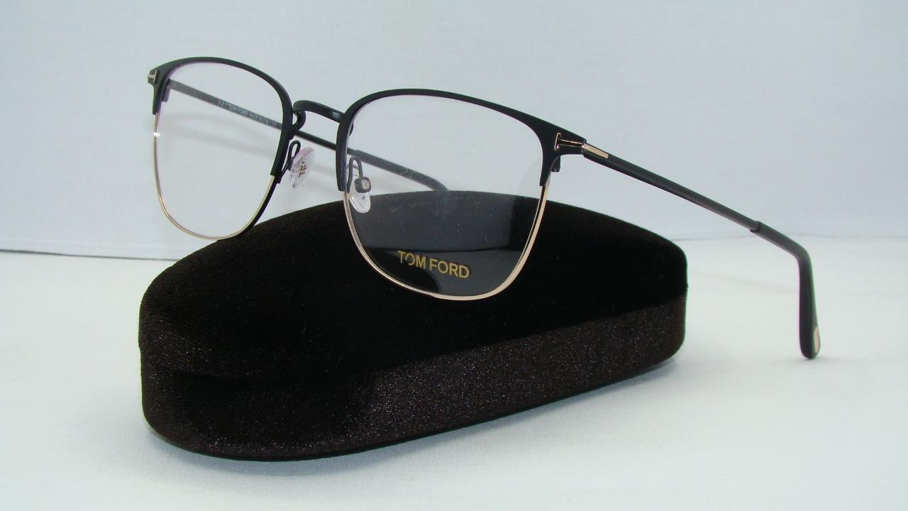 Tom Ford Herren Brille » FT5453«, schwarz, 002 - schwarz