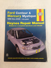 mercury villager nissan quest 1993 thru 2001 haynes repair manual rh ebay com Ford Contour 1998 Replacing Top Motor Mount 1998 Ford Contour Recalls