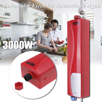 Rojo Calentador Eléctrico De Calentar Instantemente Agua