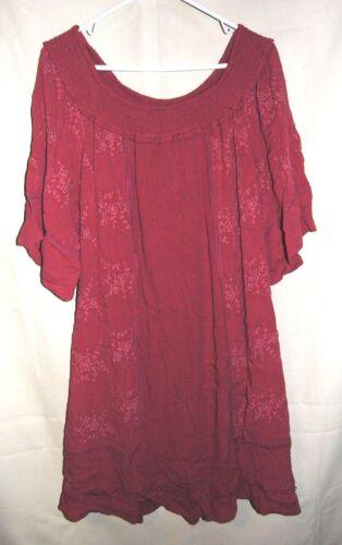 Women's KNOX ROSE Dusty Rose Dress Size M