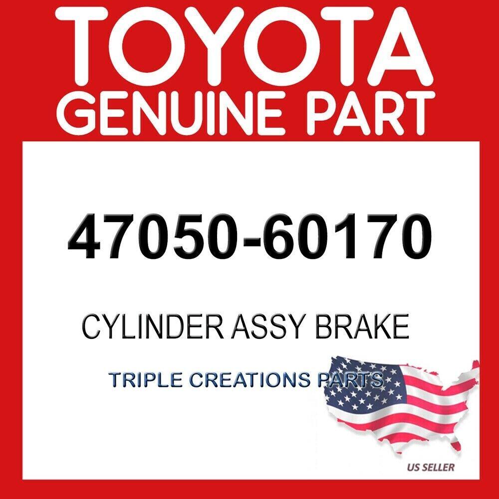 Genuine Toyota 47050-47070 Master Cylinder Brake Booster Assembly