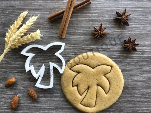 Palm Tree Cookie Cutter 04Fondant Décoration GâteauVendeur Britannique