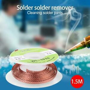 Desoldering braided Solder wick wire cord Flux BGA 2mm 2.5mm 3mm 3.5mm