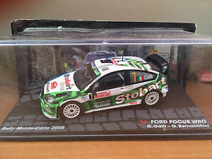 DIE-CAST-034-FORD-FOCUS-WRC-RMC-2008-G-GALLI-034-PASSIONE-RALLY-SCALA-1-43