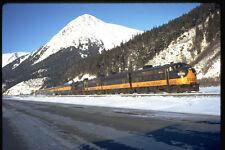 351083 Alaska RR F 7 1502 With Train Seward Special 1972 A4 Photo Print