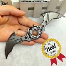 Batman Batarang Fidget Spinner Ring Alloy Tri Spinner ADHD ADD Stress Kids Toy