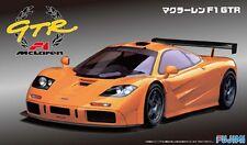 FUJIMI 12621 McLaren F1 GTR Short Tail Road Car in 1:24