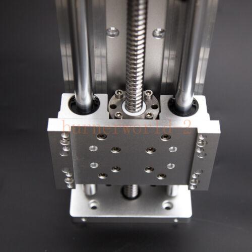 SBR carril de precisión Cruz diapositiva 1605 tornillo esférico CNC Linear carro en mesa de trabajo