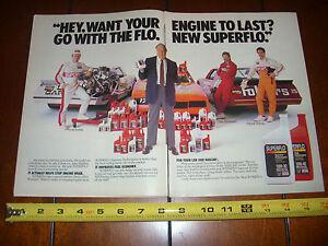 1987-MONTE-CARLO-SS-NASCAR-ORIGINAL-2-PAGE-AD-EXXON