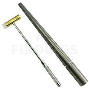 RING-SIZER-STICK-UK-STEEL-RING-MANDREL-TRIBLET-WITH-NYLON-HAMMER-JEWELLERY-TOOL