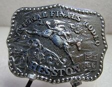 1986 Hesston NFR Rodeo Belt Buckle (Adult size)