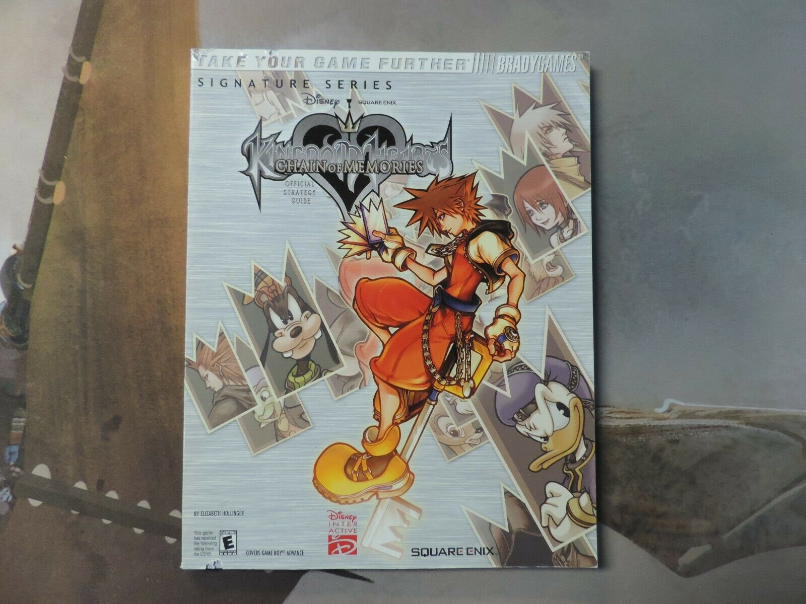 Kingdom Hearts Chain Of Memories Official Strategy Guide With