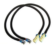 """2X Rear Oxygen O2 Sensor Extension Cables 2005-2013 Corvette C6 LS2  LS3 LS7 24"""""""