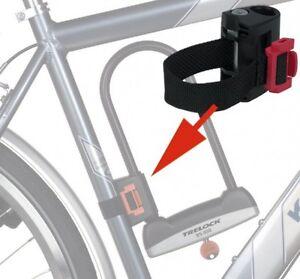 Trelock-Zb-501-Textil-Halterung-para-Bugelschlosser-BS-400-510-610-Bicicletas