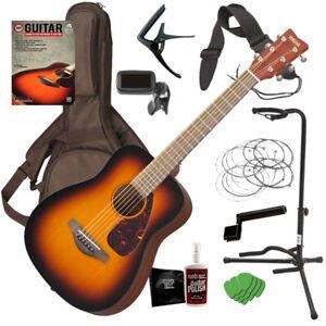 bc365c1e47 Image is loading Yamaha-JR2-Junior-Acoustic-Guitar-Tobacco-Sunburst -COMPLETE-
