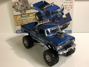 Bigfoot-The-Original-Monster-Truck-1974-Ford-F-250-1-18-Echelle-Greenlight