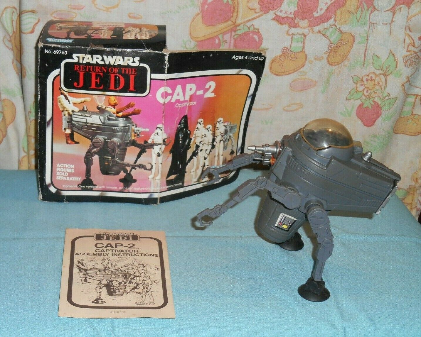 Vintage Star Wars ROTJ CAP-2 Captivator mini-rig in box