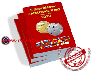 Catalogue-Euro-2020-Leuchtturm-Cotation-des-Pieces-et-Billets-Ref361352