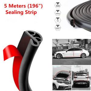 Car Door Window Trim Edge Moulding Rubber Weatherstrip Seal Strip Defend 36/'/'