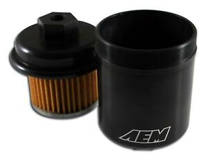 AEM Black Fuel Filter 25-200BK 92-00 Honda Civic 94-01 Acura Integra 94-97  Accor | eBayeBay